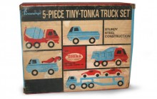 JC Penny 5-piece Tiny Tonka Truck set