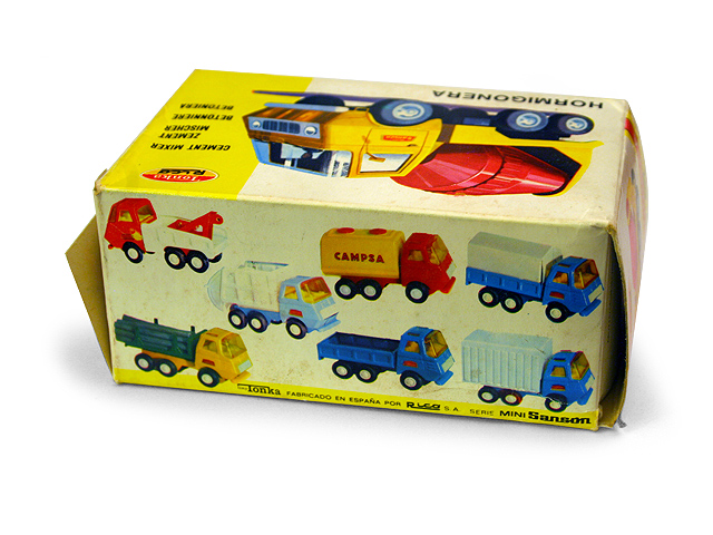 Tonka Rico Cement Mixer Box