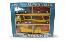 Tiny Tonka Woolworth Set